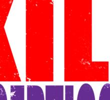 Training to KILL DECEPTICONS Sticker