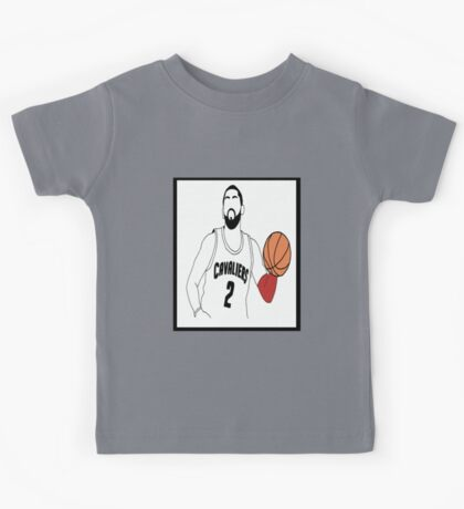 Kyrie Irving Dribbling Down the Court Kids Tee