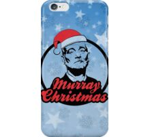Murray Xmas iPhone Case/Skin