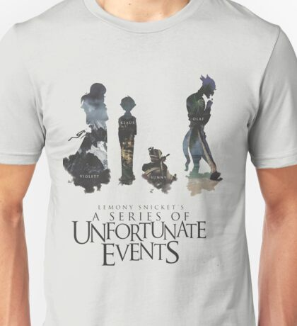 A series of unfortunate events characters Unisex T-Shirt