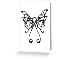 cancer butterfly Greeting Card