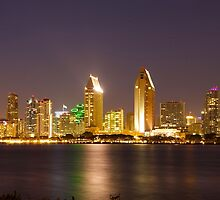 San Diego Skyline by cameronstow
