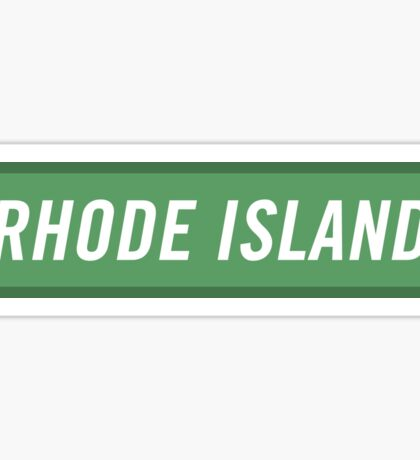 Rhode Island G Sticker