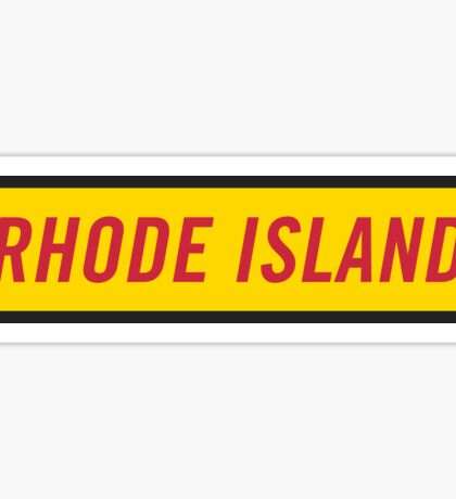Rhode Island Y Sticker