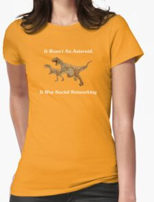 Social Networking: The Real Cause Of Dinosaur Extinction T-Shirt