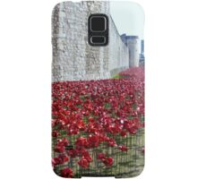 Sea of poppies -Tower of London Samsung Galaxy Case/Skin
