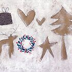 A rustic Christmas collection. by Tine  Wiggens