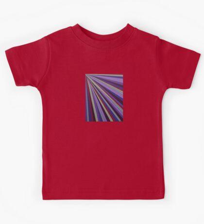 Purple rays Kids Tee