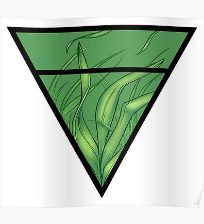 Earth symbol Poster