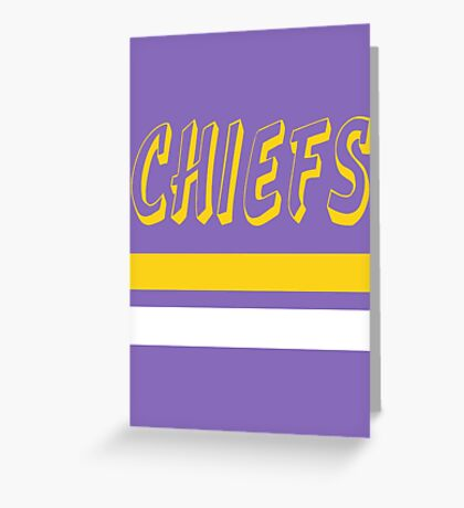 Charlestown Chiefs Greeting Card