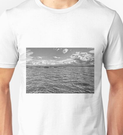 Boats on Lake Constance Unisex T-Shirt