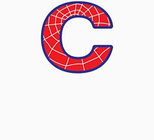 C letter in Spider-Man style Unisex T-Shirt