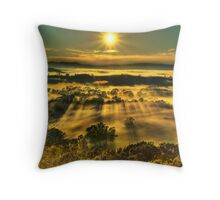 Ovens Valley sunrise Throw Pillow