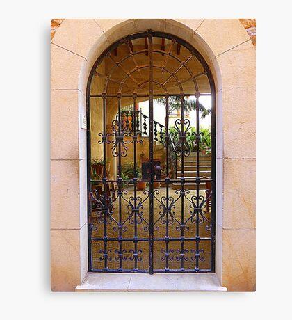 The Inner Courtyard..........................................Majorca Canvas Print
