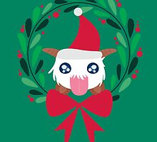 Christmas Poro Wreath by sylview