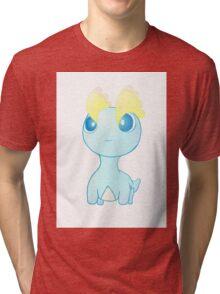 Pokemon Amaura pokedoll chibi design Tri-blend T-Shirt