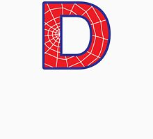 D letter in Spider-Man style Unisex T-Shirt