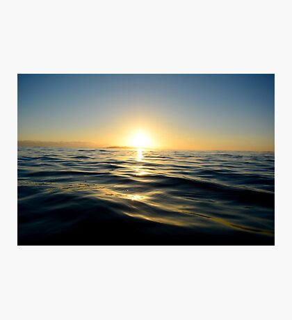 Beautiful ocean sunrise Photographic Print