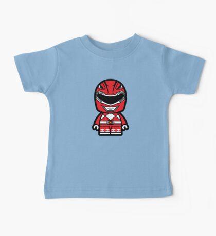 Red Ranger Chibi Lego Baby Tee