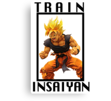 Goku - Train Insaiyan Canvas Print
