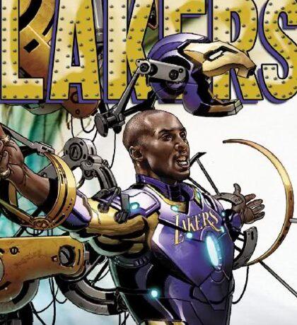 Lakers Legend - Iron Man Kobe Sticker