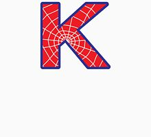K letter in Spider-Man style Unisex T-Shirt
