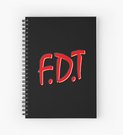 FDT Spiral Notebook