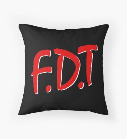 FDT Throw Pillow