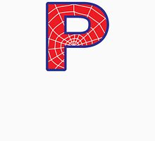 P letter in Spider-Man style T-Shirt