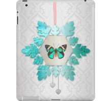 Snowflake and Butterfly iPad Case/Skin