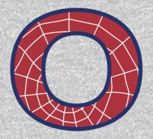 O letter in Spider-Man style Kids Clothes
