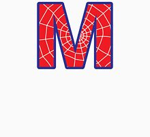 M letter in Spider-Man style Unisex T-Shirt