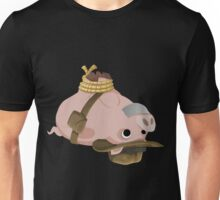 Glitch Inhabitants hogtied piggy explorer Unisex T-Shirt