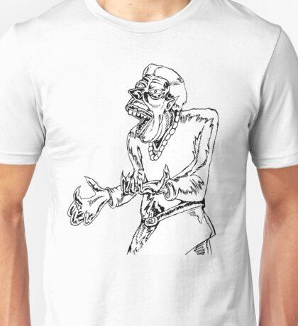 Werewolf Transformation in Ink Unisex T-Shirt