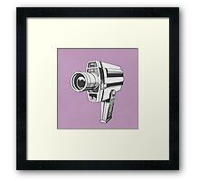 Video Camera Framed Print
