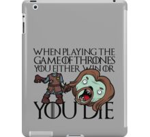 Ned Stark Zombie - Game of Thrones iPad Case/Skin