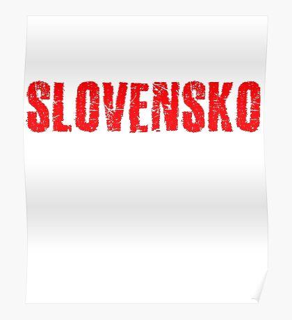 Slovakia Poster