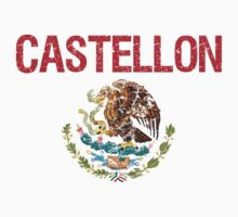 Castellon Surname Mexican Kids Clothes
