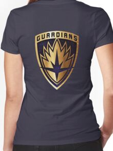 galaxy of guardian Women's Fitted V-Neck T-Shirt