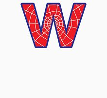 W letter in Spider-Man style Unisex T-Shirt