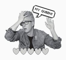 Tyler Oakly Queen by punksterpie