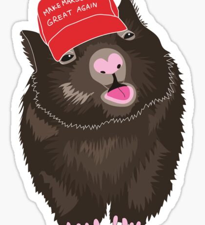 He's a bit of a mouth breather that wombat... Sticker