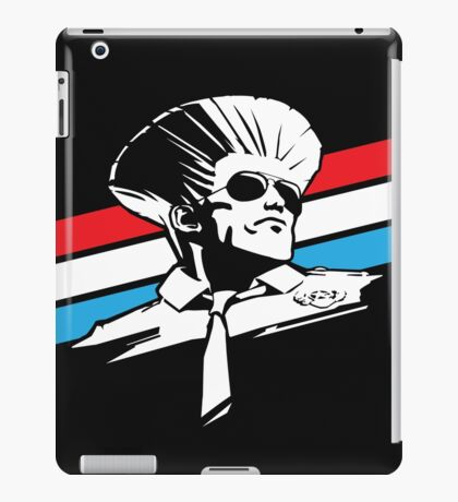 Street Fighter - GUILE - USA STRIPES iPad Case/Skin