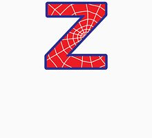 Z letter in Spider-Man style Unisex T-Shirt