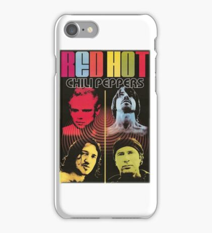 red hot chili papper iPhone Case/Skin