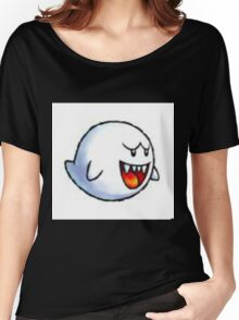BADLY PIXELATED, BUILT FROM SPRITE - Glitch Inhabitants npc catch me ghost Women's Relaxed Fit T-Shirt