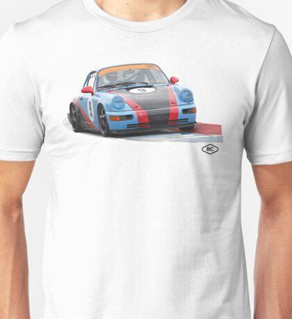 Porsche 964 Race Car by Robert Charles Designs Unisex T-Shirt