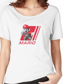 Simple Smash. Mario Women's Relaxed Fit T-Shirt