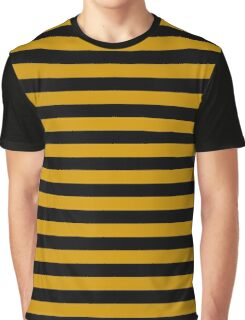 Bee stripes pattern Graphic T-Shirt