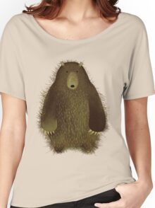 Barnsley the Big Bear. Women's Relaxed Fit T-Shirt